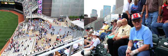 target field seating. target field seating view. girlfriend Civic Center Seating Chart target