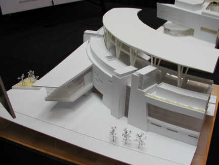Concept model : Home plate entrance