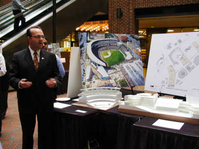 Dave St. Peter talks about the ballpark concept model