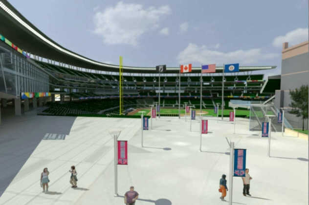 Ballpark Animation 10 - Inner Plaza