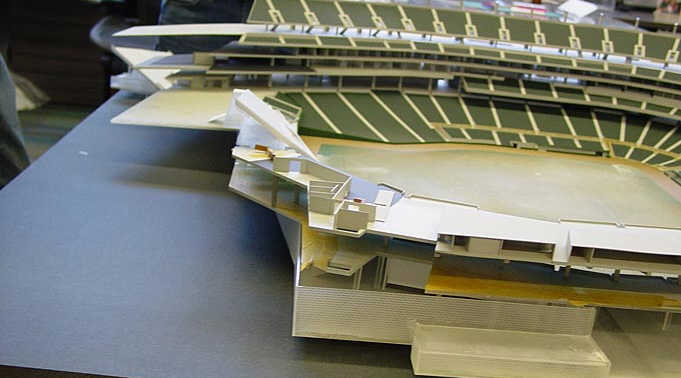 New Twins Ballpark - Model Preview 1