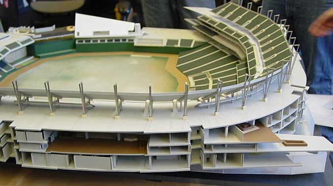 New Twins Ballpark - Model Preview 10