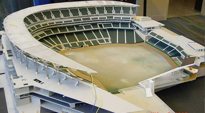 New Twins Ballpark - Model Preview 2