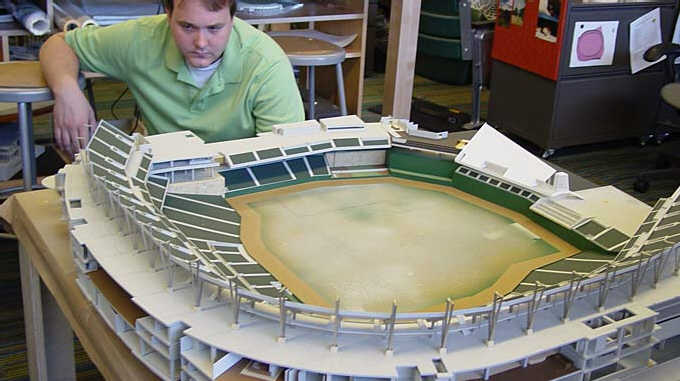 New Twins Ballpark - Model Preview 8