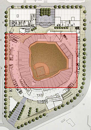 Nationals Ballpark Site (Twins Site Overlay)