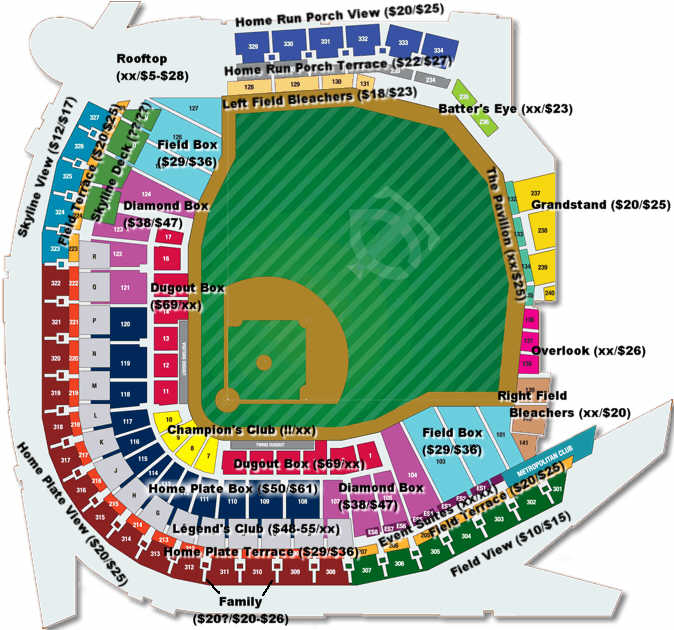 Alex box seating chart ballparkmagic com ayucar com