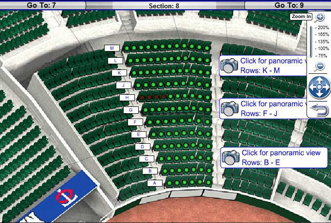 Target Field Seating Chart With Seat Numbers Safeco